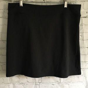 Adidas Climalite golf skirt skort black size 12